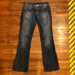 Lucky Brand - Sweet Dream Jean - wide leg boot cut